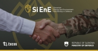 The Ministry of Defence of RS and TECES sign an agreement on establishing a Slovenian Energy and Environment Partnership in Defence (SiEnE)